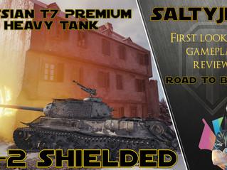 Road to Berlin Reward Tank, IS2 Shielded