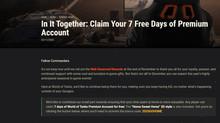 7 Days Premium Free!!
