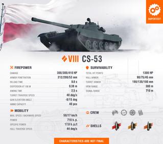 Onto the Supertest: CS-53 & CS-59