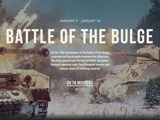 "Tank Rewards ""Battle Of The Bulge"""