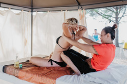 tajlandska masaža leđa ramena i vrata