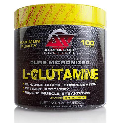 L-Glutamine Micronized, Unflavored FREE US SHIPPING