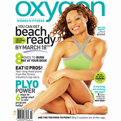 Alicia Marie Denson Oxygen cover Issue67 Alex Ardenti
