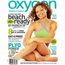 Alicia Marie Denson Oxygen cover Issue67