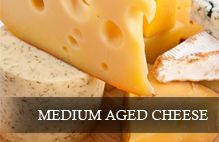 Wines that go well with medium aged cheese