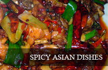 Wines that go well with spicy asian food