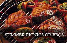 Wines that go well with summer picnics or bbq's
