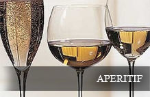 Wines that go well with aperitif