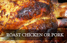 Wines that go well with roast chicken or pork