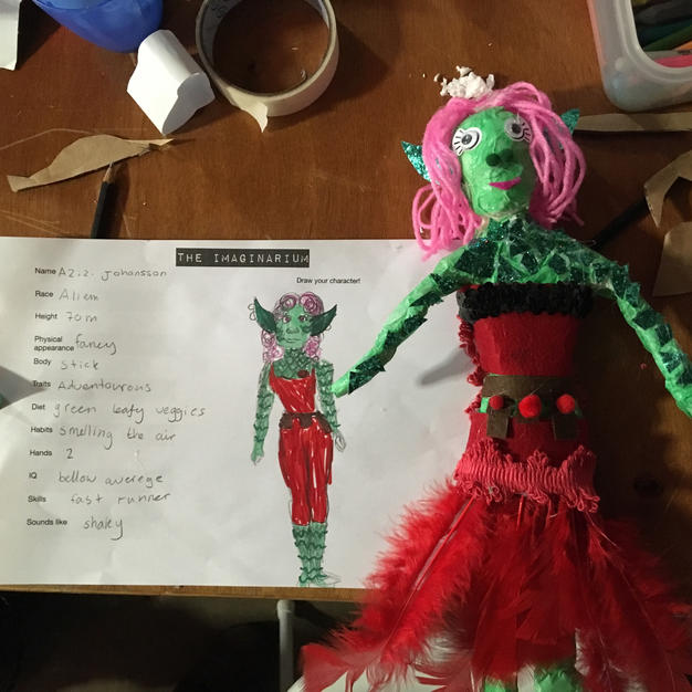 6. The Imaginarium puppet Dec 2019 Photo