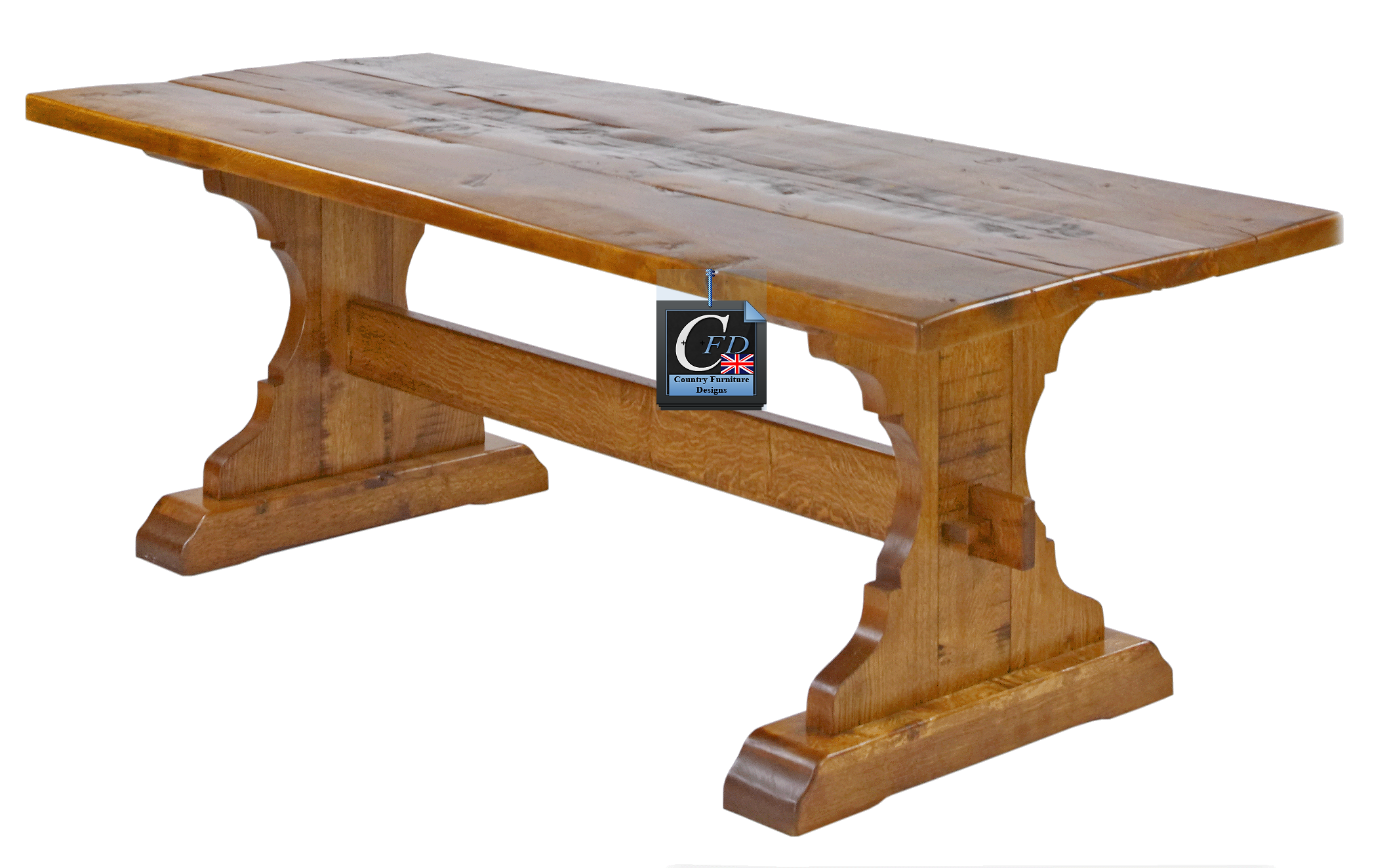MEDIEVAL STYLE OAK DINING TABLE: MADE IN EAST SUSSEX U0026 SUFFOLK WORKSHOPS:  Our Traditional, Handmade, Medieval Style English Oak Refectory Tables Can  Be ...