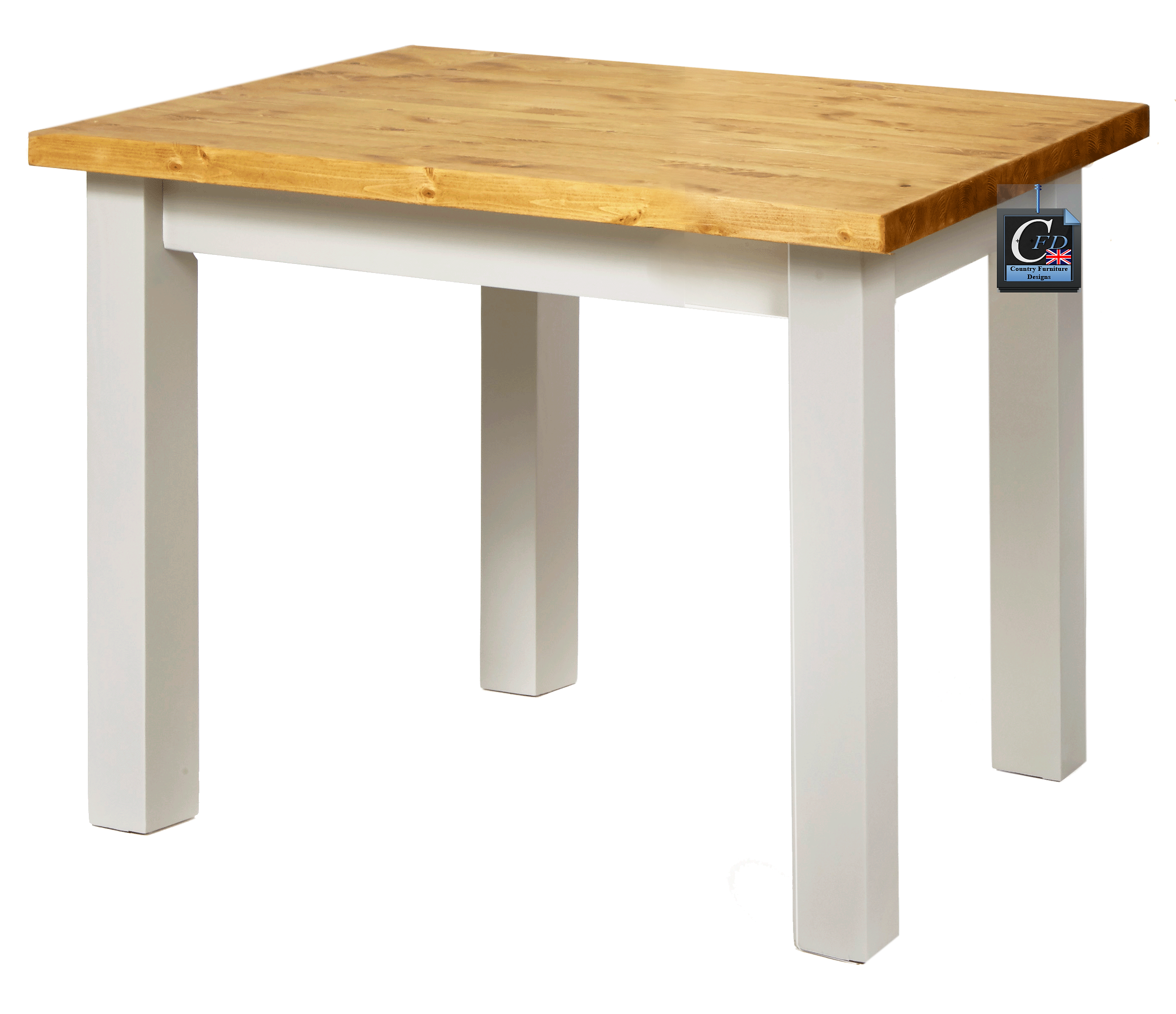 PAINTED PINE FARMHOUSE TABLES: HANDMADE IN EAST SUSSEX: