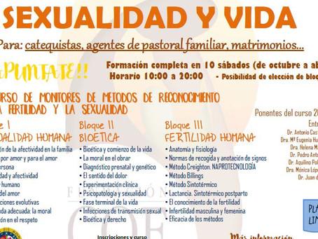 VIII Curso de Monitores de Métodos de Reconocimiento de la Fertilidad y de la Sexualidad Humana