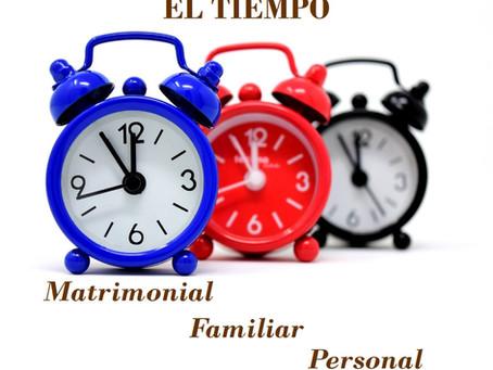 El tiempo en el matrimonio