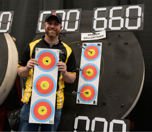 Second Person to shoot a 660 at the Lancaster Classics - with Smacdown .625