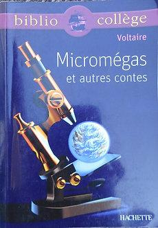 """Voltaire """"Micromégas et autres contes"""""""
