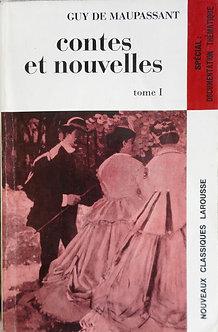 """Guy de Maupassant """"Contes et nouvelles"""" Tome 1"""
