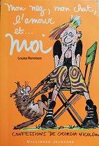 """Louise Rennison """"Mon nez, mon chat, l'amour et ... moi"""""""