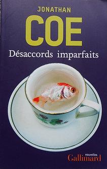 "Jonathan Coe ""Désaccords imparfaits"""