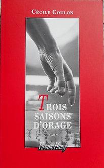 """Cécile Coulon """"trois saisons d'Orage"""""""