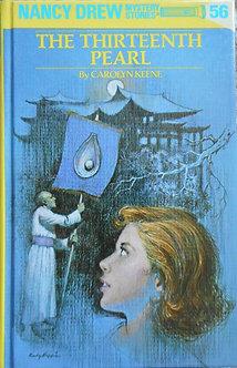 "Carolyn Keene ""The thirteenth Pearl"""
