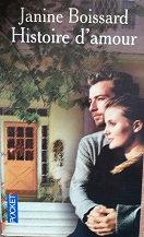 """Janine Boissard """"Histoire d'amour"""""""