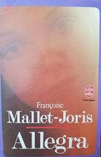 """Françoise Mallet-Joris """"Allegra"""""""