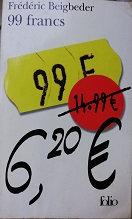 "Frédéreic Beigbeder ""99 francs"""