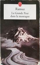 "Ramuz ""La Grande Peur dans la montagne"""