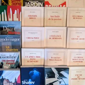 Quelques Gallimard de notre bibliothèque...