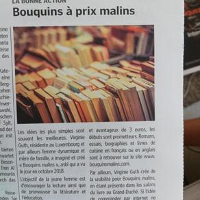 Un article dans l'imail news, le journal de toutes vos envies!