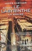 """James Dashner """"Avant le labyrinthe- La braise"""""""