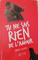 "Mikaël Ollivier ""Tu ne sais rien de l'amour"""
