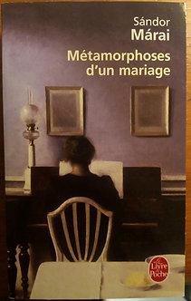 "Sandor Marai ""Métamorphoses d'un voyage"""