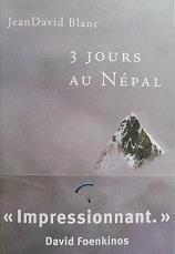 "Jean-David Blanc ""3 jours au Népal"""