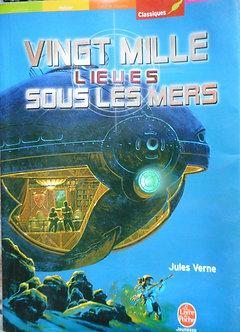 """Jules Verne """"Vingt mille lieux sous les mers"""""""