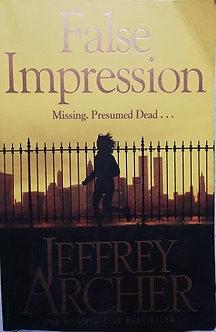 "Jeffrey Archer ""False Impression"""