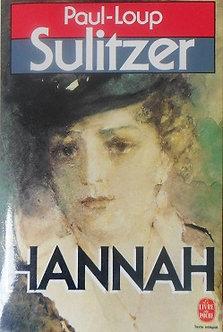 """Paul-Loup Sulitzer """"Hannah"""""""