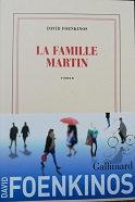 """David Foenkinos """"La famille Martin"""""""