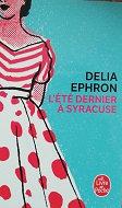 """Delia Ephron """"L'été dernier à Syracuse"""""""
