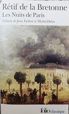 """Rétif de la Bretonne """"Les nuits de Paris"""""""
