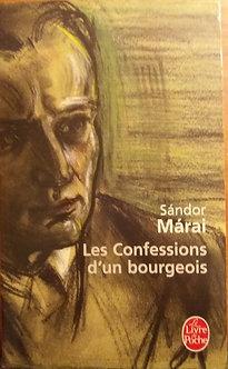 """Sandor Marai """"Les confessions d'un bourgeois"""""""