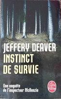 "Jeffery Deaver ""Instinct de survie"""