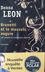 """Donna Leon """"Brunetti et le mauvais augure"""""""