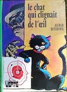 """Alfred Hitchcock """"Le chat qui clignait de l'oeil"""""""