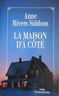 """Anne Rivers Siddons """"La maison d'à côté"""""""