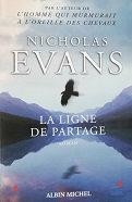 """Nicholas Evans """"La ligne de partage"""""""