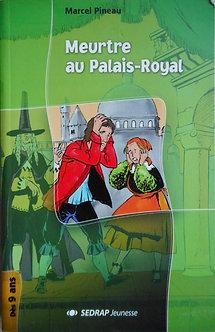 "Michel Piquemal ""Meurtre au Palais Royal"""