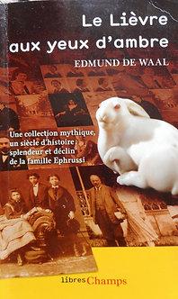 """Edmund de Waal """"Le lièvre aux yeux d'ambre"""""""