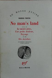"Harold Pinter ""No man's land"""